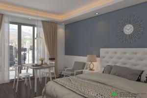 Thiết kế nội thất căn hộ chung cư Studio 34m2 dự án D'capitale