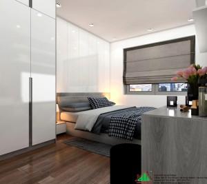 Thiết kế thi công căn hộ D'capitale